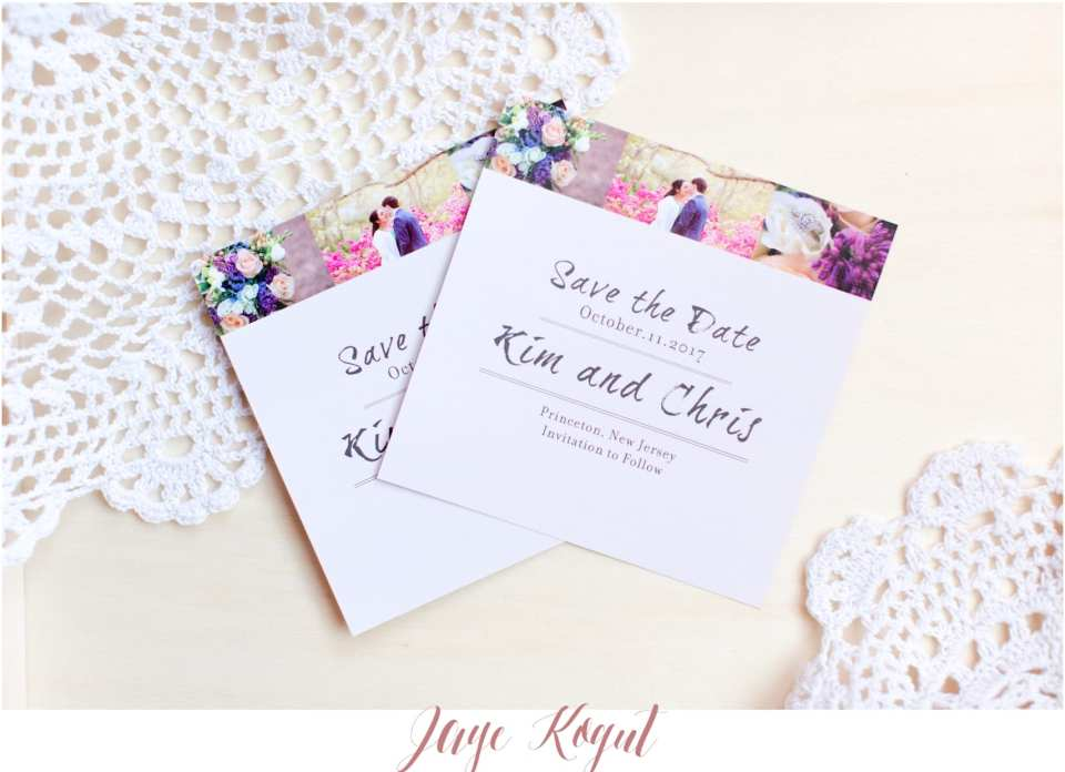 save the date ideas, STDS, Thank you card ideas
