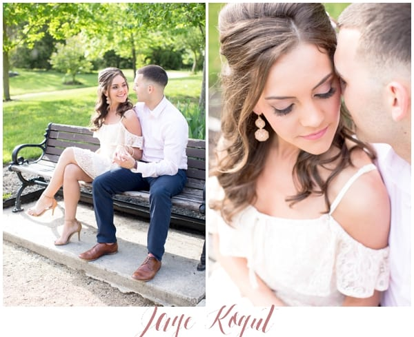 romantic engagement photo ideas in new jersey, NJ engagement photos