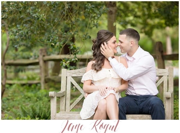 Sayen Garden Engagement Photos