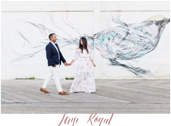 asbury park engagement sessions