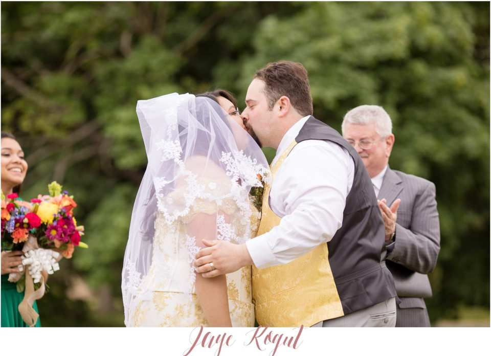 backyard wedding ceremonies in New Jersey