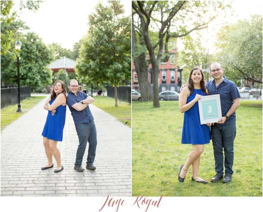 Jersey city engagement photos, fun engagement photo ideas