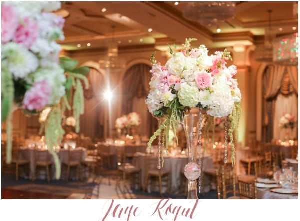 luxury wedding floral design, high end NJ weddings