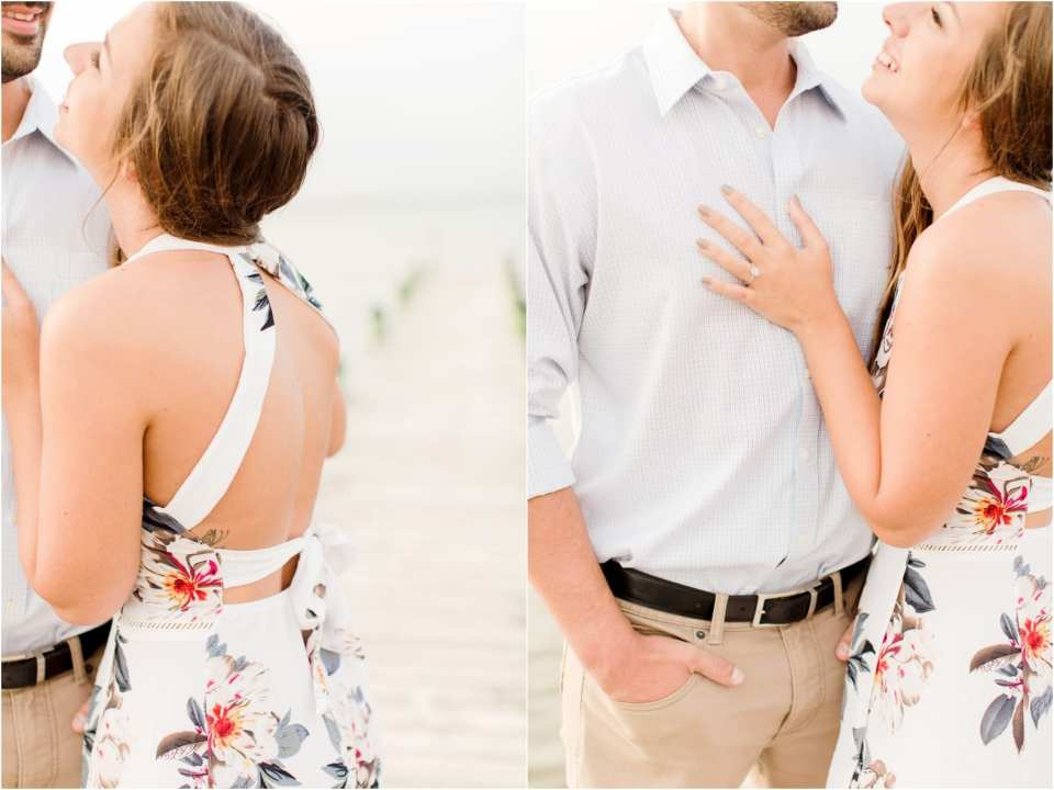amazon dresses for engagement photos, summer engagement photos in NJ