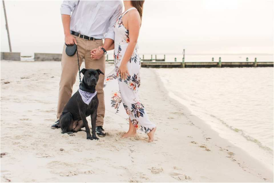 adding pets to your engagement photos, NJ engagement photos