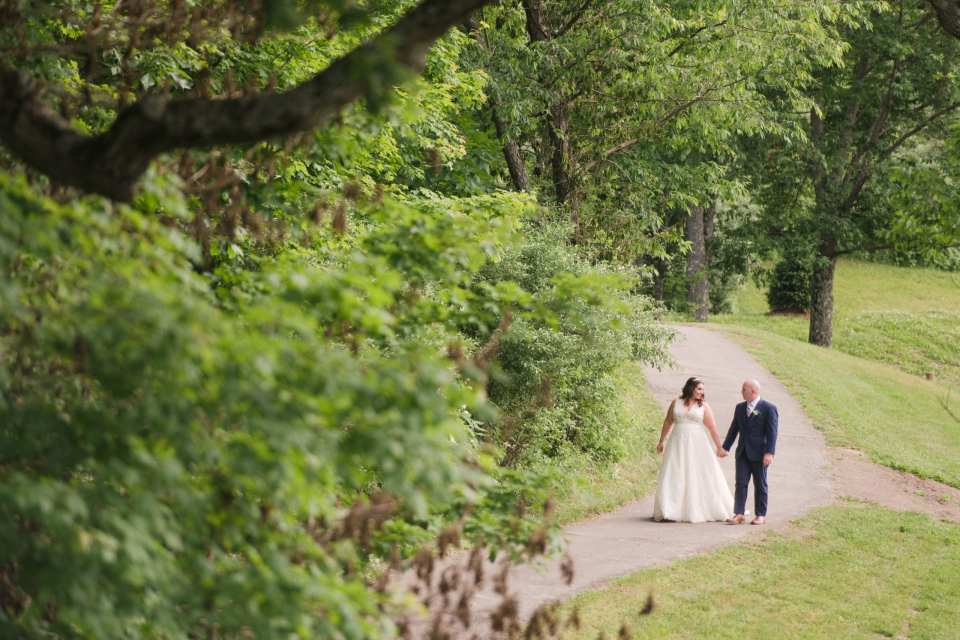 bear brook valley wedding photos
