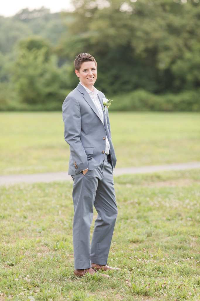 Updike Farmstead wedding, rustic Princeton wedding, J.Crew suit