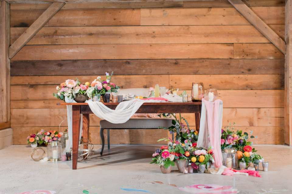 Updike wedding, rustic Princeton wedding, rustic sweetheart table, custom bridal decals, Bombshell graphics, Day lily group, Vision furniture