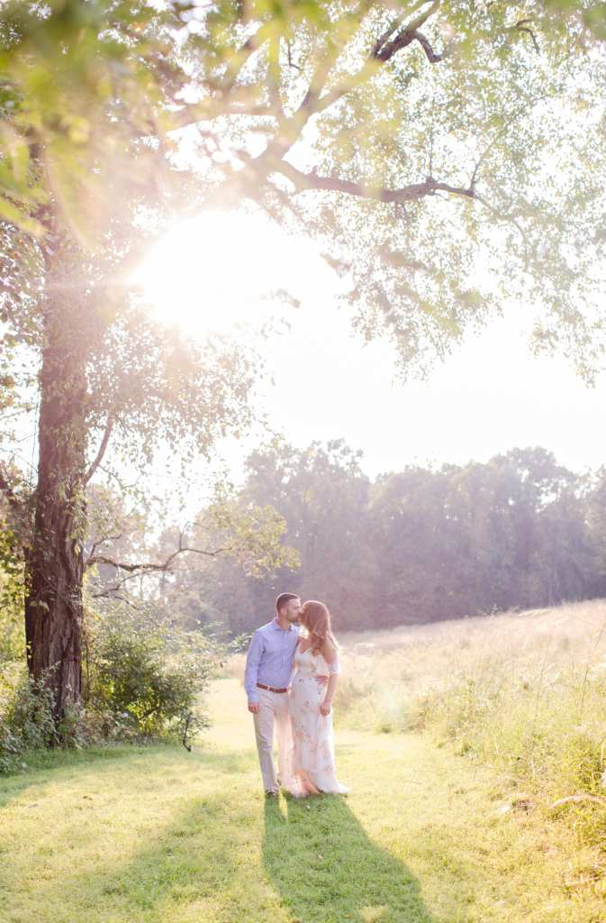 mountain lakes house wedding, baldpate mountain engagement photos, bright and airy engagement photography