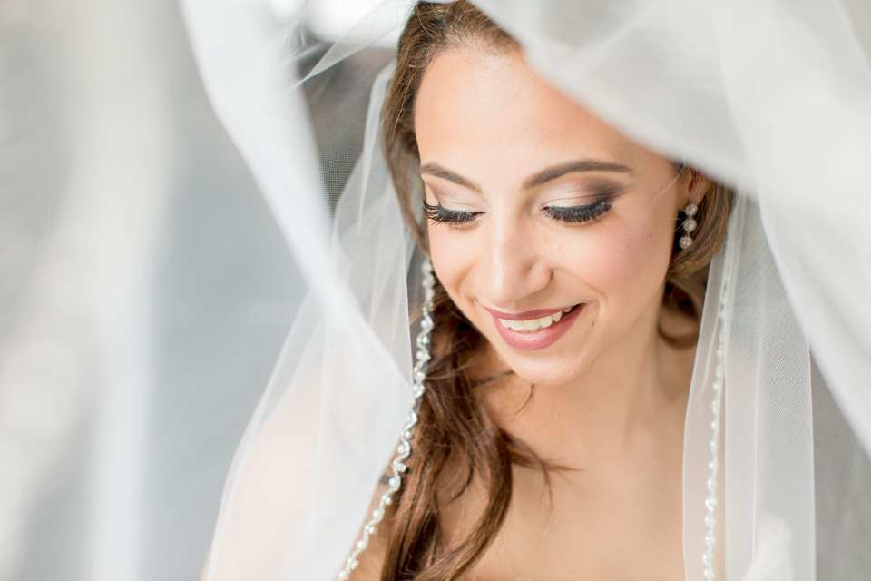 Makeup Artistry by Denise, stunning bridal portrait, bridal veil portrait, NJ wedding photographer