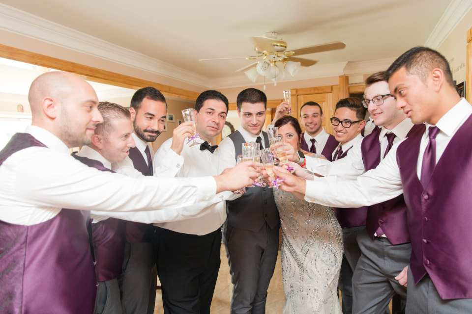 toast to the groom, fun shots with the groom photo