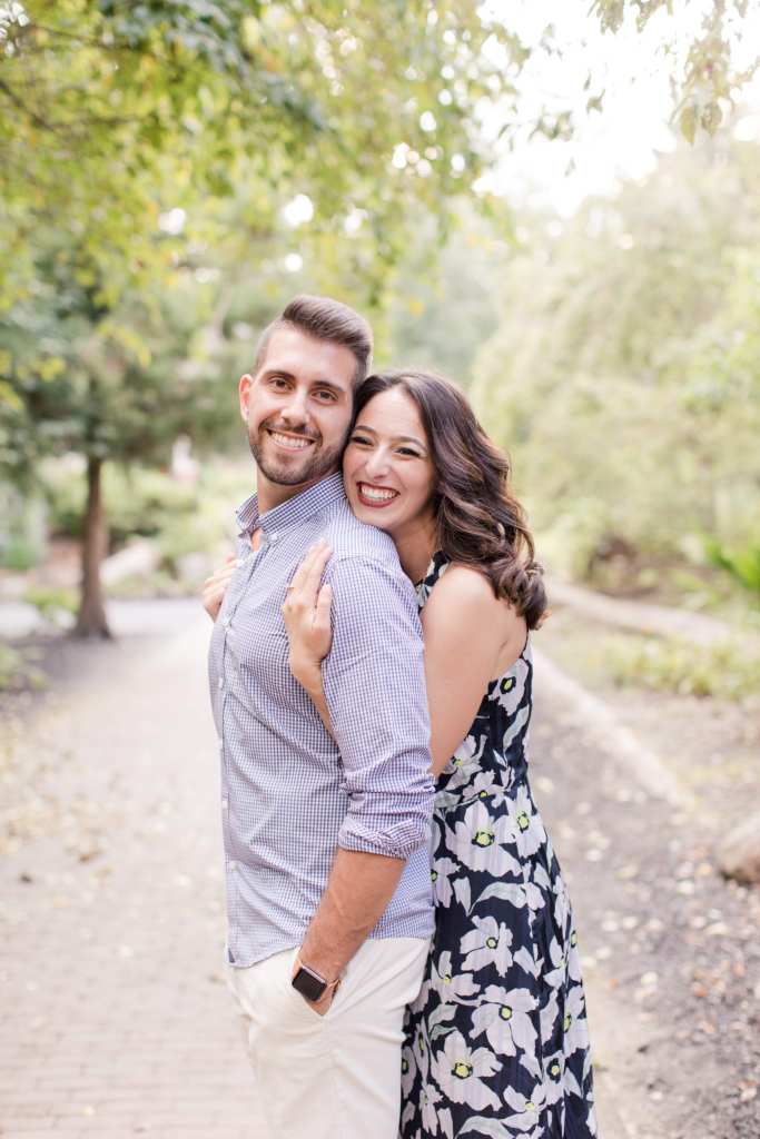 Sayen Gardens weddings, Mercer County New Jersey weddings, dressy casual engagement session, New Jersey wedding photographer