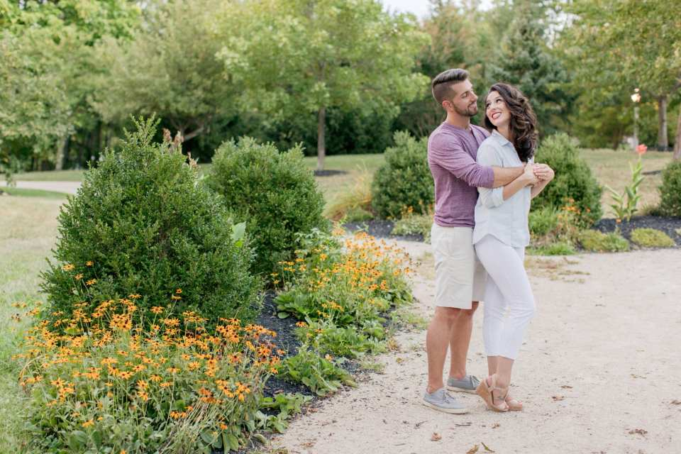 Casual and fun engagement photos, New Jersey wedding photographers