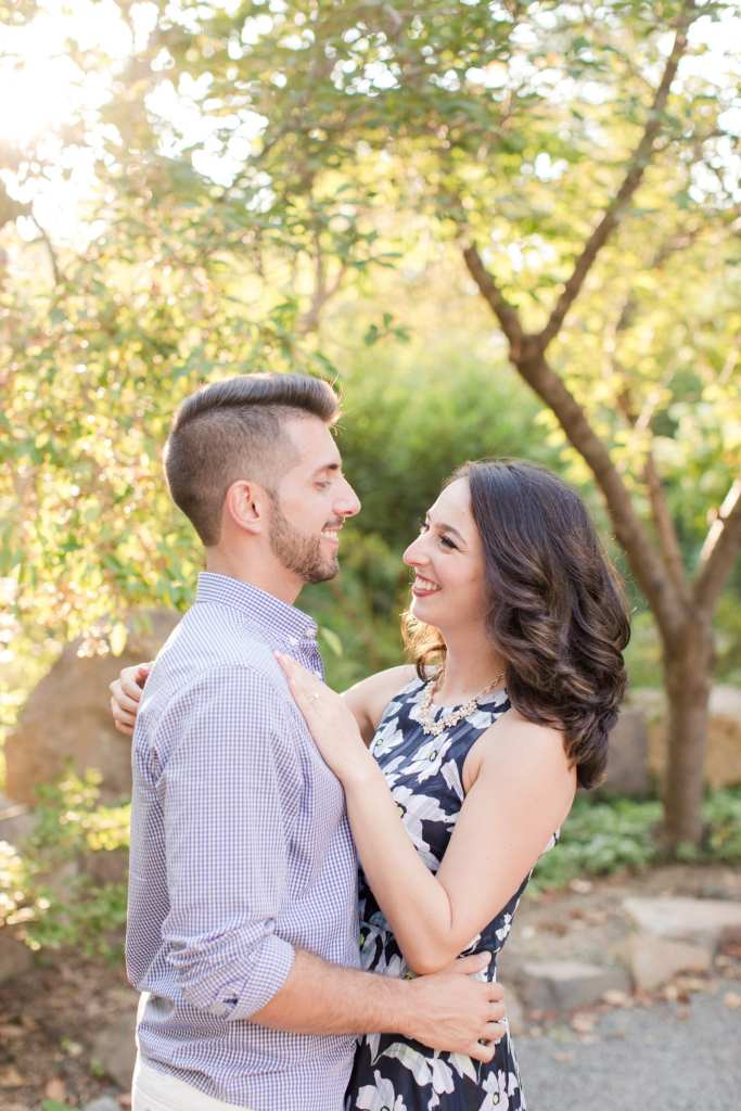 Sayen Gardens engagement photos, Hamilton New Jersey
