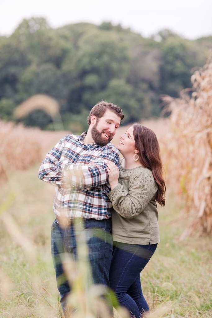 corn field engagement session