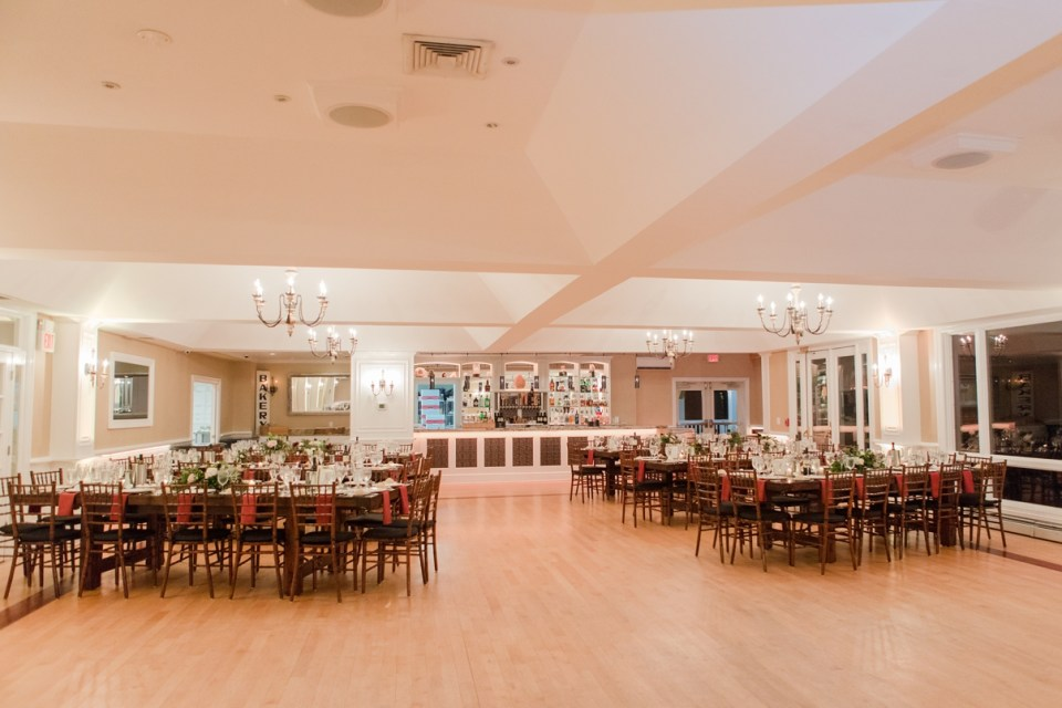 Rock Island Lake Club ballroom