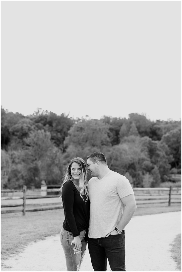 black and white engagement photos, candid wedding photography, New jersey engagement photos