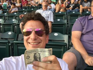 Me last week gambling at Coors Field