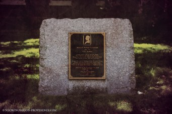 H. P. Lovecraft's Memorial site