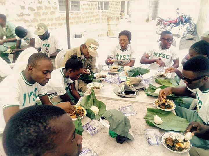 The different types of food for a Nigerian Corper.