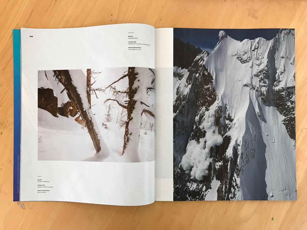 october 2016 powder magazine tear sheet by Jay Goodrich