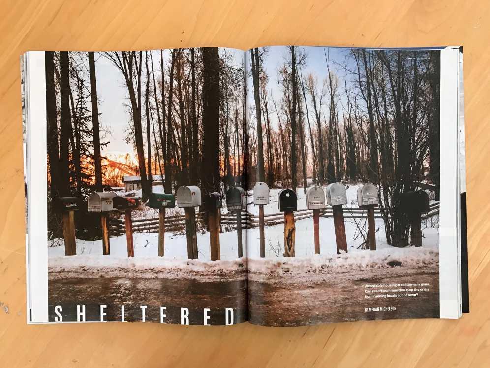 December 2016 Powder Magazine tear sheet by Jay Goodrich