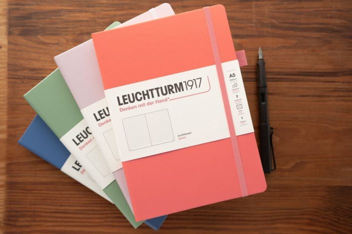Leuchtturm muted notebooks