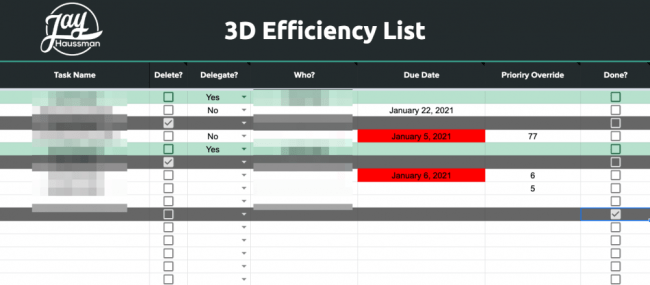 JH - 3D Efficiency