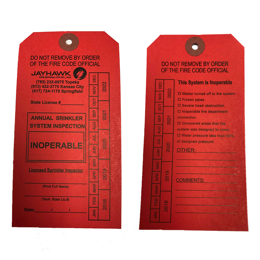 red tag impairment system