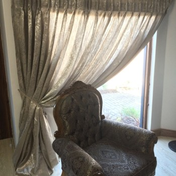 Curtains, Window Treatment, Upholstery