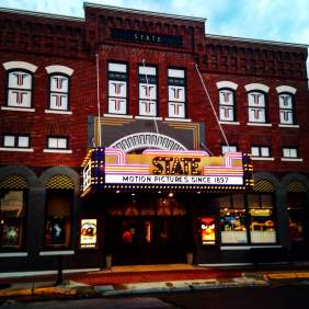 The worlds oldest continuously operated movie theater is right in Washington, IA! Buy a ticket and take in a couple hours of history while you're in town.