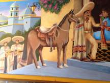 Classic Mexican inspired artwork surrounds your dining experience at El Sol.