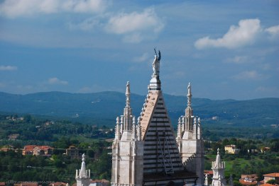 Siena cathedral's spire