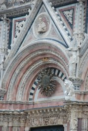 detail over the main portal....