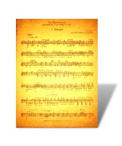 Eine Kleine Nachtmusik K. 525 Arr. for Solo Classical Guitar