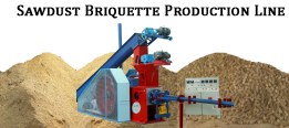 3-sawdust Briquette production line