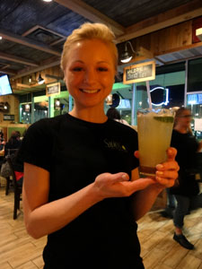 Our server, Nikki, was attentive and fun with our group.