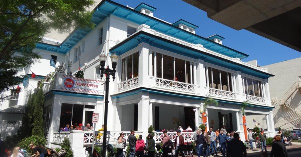 The Candy Apple Cafe ; Cocktails reinvigorated Downtown's historic Seminole Club when it opened Dec. 15, 2014 across from City Hall and Hemming Park.