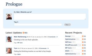 As shown in WordPress.com