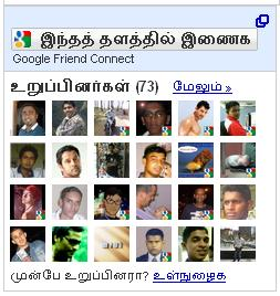 Tamil Interface