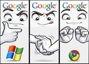Windows to Google Chrome