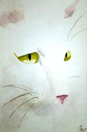 Watercolor My Kitty