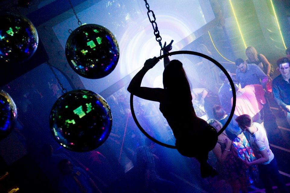 Aerial Hoop, Time Venue Opening Night, Ireland