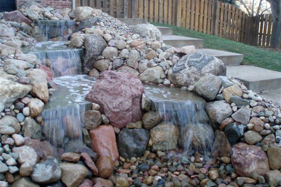 Split Boulder Water Feature