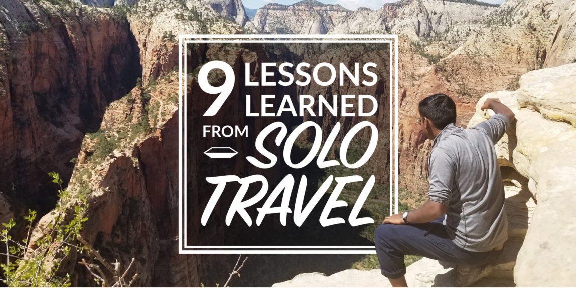 lessons learned from solo travel