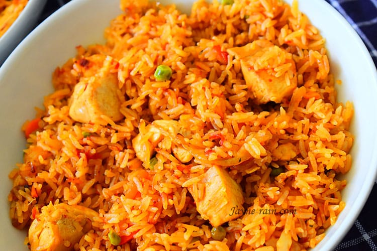 chicken jollof rice