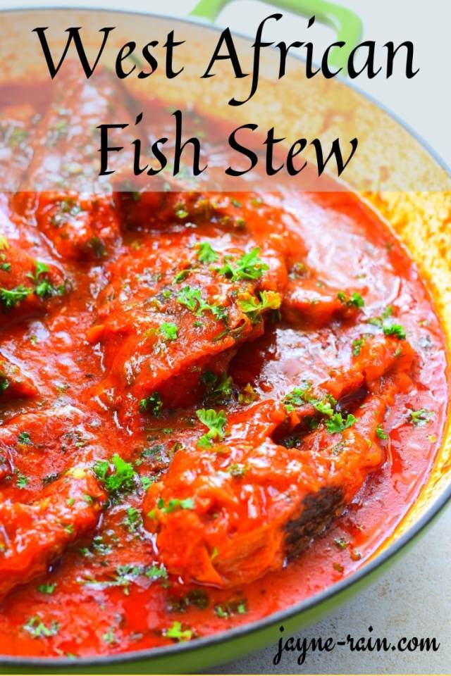 West African Fish Stew Pin