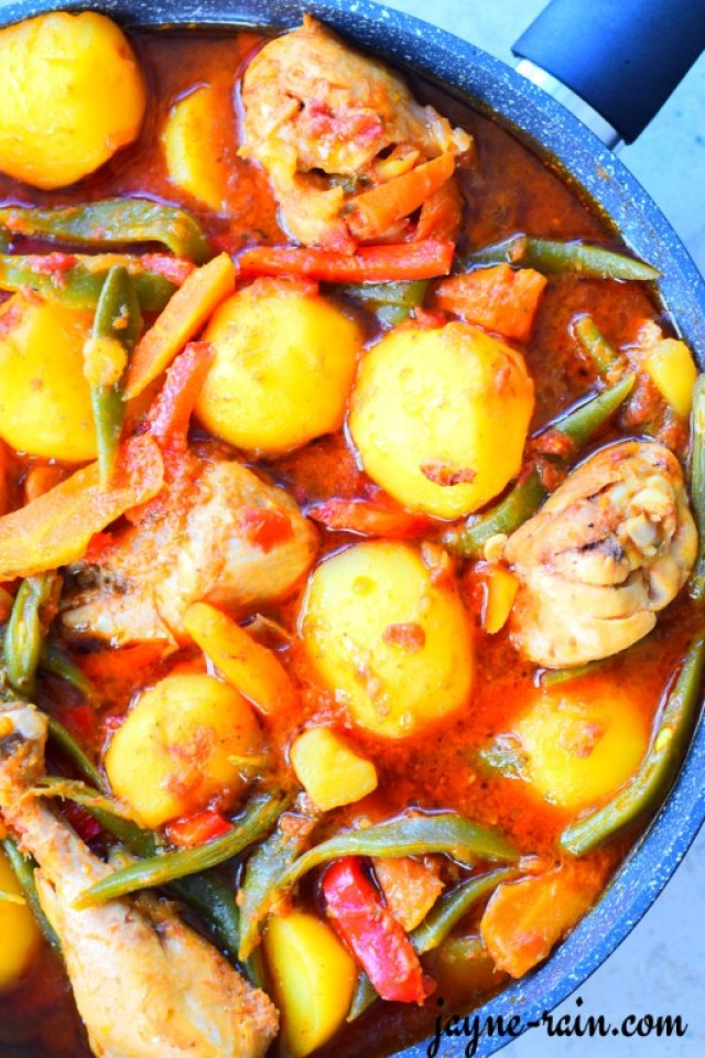 African potato stew
