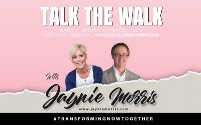 TalkTheWalk Podcast Professor John Mendoza with Jaynie Morris