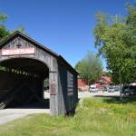 Kissing Bridge At Vermont Country Store